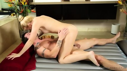 Masseuse Gets Pounded Hard - scene 9