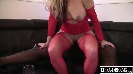 Slutty Girl Takes Black Cock - scene 8