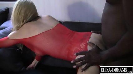 Slutty Girl Takes Black Cock - scene 10