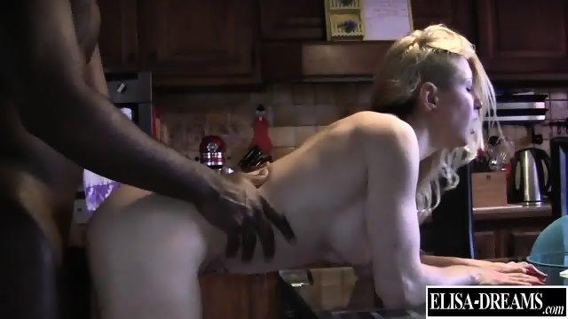 Slutty Girl Takes Black Cock