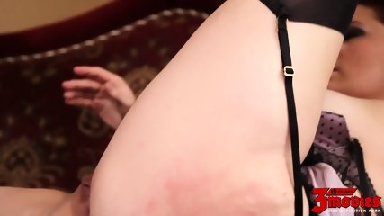 Round Lady Banged By Black Cock - scene 11