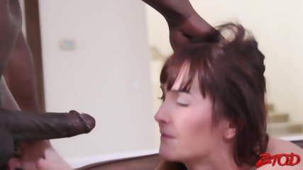 Slutty Girl And Black Dick In Action - scene 8