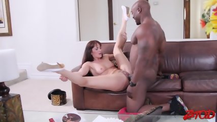 Slutty Girl And Black Dick In Action - scene 6