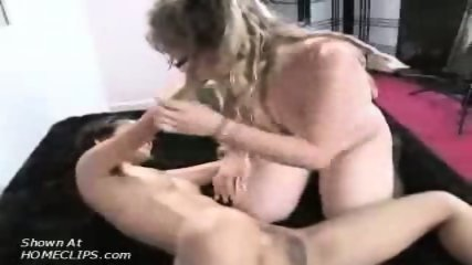 Nerd lesbians have fun with each other's pussy - scene 12