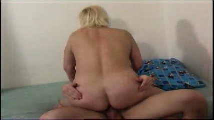 Chunky mom gets fucked good and hard - scene 3