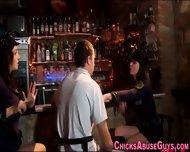 Bdsm Lady Cops Tug Loser