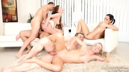 Three Hotties Are Addicted To Sex - scene 9