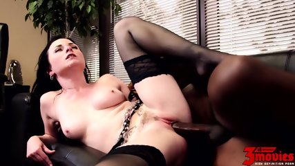 Office Action With Big Black Cock - scene 10
