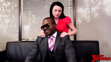Office Action With Big Black Cock - scene 1