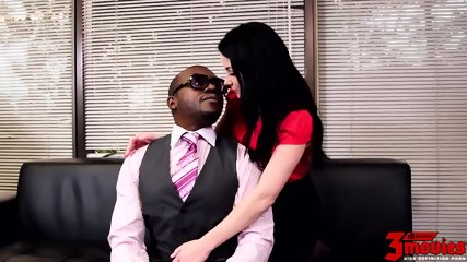 Office Action With Big Black Cock - scene 2