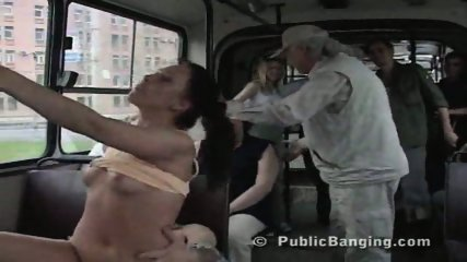Public Sex In a City Bus - scene 6