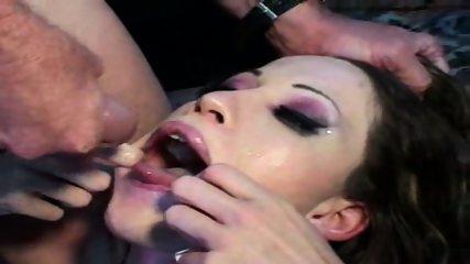 Strange fucking and Sperm Orgy - scene 10