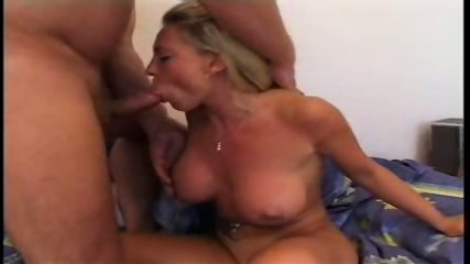 German Bigtit-Chick blowing - scene 9