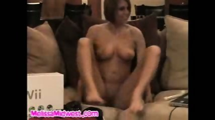 Melissa Midwest giving away a Nintendo Wii naked - scene 11