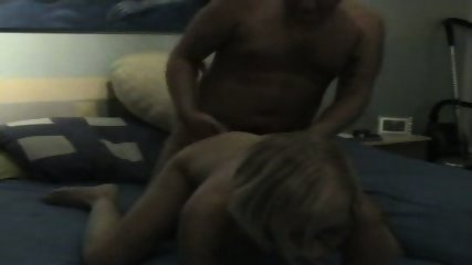 Nice Amateur blonde having good sex - scene 10