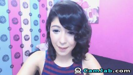 Very Cute Asian Babe On Cam - scene 4