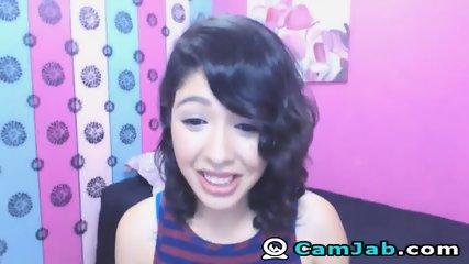Very Cute Asian Babe On Cam - scene 6