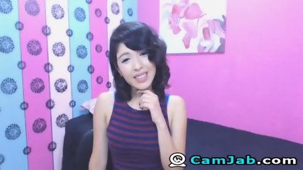 Very Cute Asian Babe On Cam - scene 7