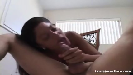 Wild Latina Sucks A Massive Dick And Gets A Facial Cumshot - scene 2
