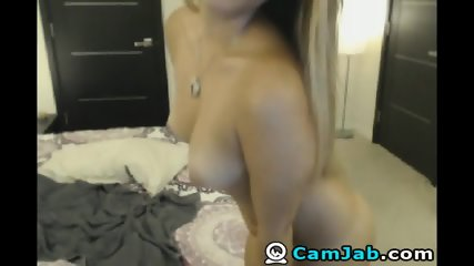 Sexy Brunette Striptease On Adult Free Cam - scene 2
