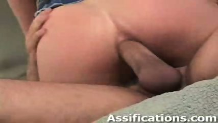 This busty blonde gets a nasty ass banging - scene 10