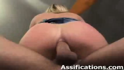 This busty blonde gets a nasty ass banging - scene 11