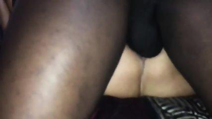 Big Black Cock Pounding White Juicy Pussy - scene 5