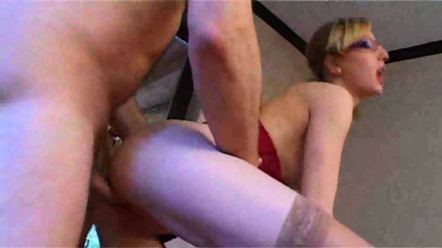 Starla gets a mouth load after an ass fuck