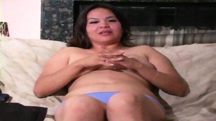 Chunky MILF in White Bra - scene 8