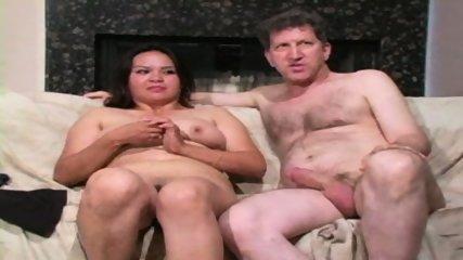 Chunky MILF in White Bra - scene 12