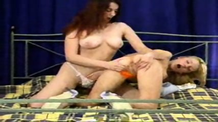 lezzies show each other their titties - scene 4