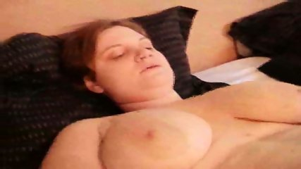 chubby amateur really plays with her juicy snatch - scene 7