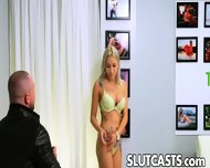 Blonde Busty Bubble Butt Teen Used In All Her Holes