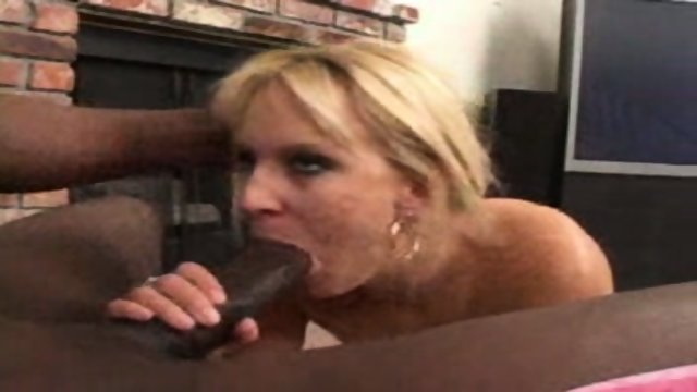 This cute MILF craves black cock