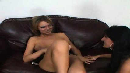 riding her strap-on - scene 12