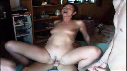 MILF's virgin ass is pounded - scene 9