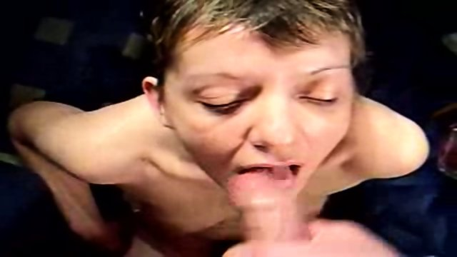 Milf amateur blowjob and facial