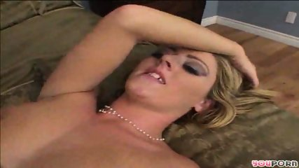 blonde on top of black dude - scene 6