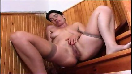 MILF plays with her toys - scene 10