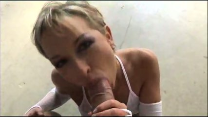 Beauty Licks Balls and Cock