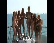 My Affair On Milf-meet - Grannys More Yacht Orgy Part 4