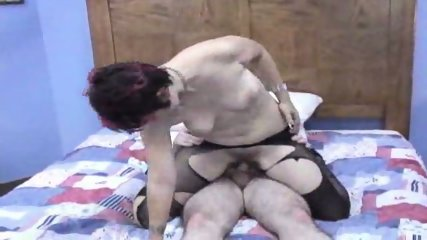 Raven in pantyhose gets banged - scene 6
