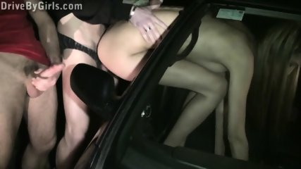 Sexy Pornstar Kitty Jane Public Sex Gang Bang Street Orgy With Several Random Strangers - scene 8