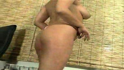 Raquel removes her panties for us - scene 8