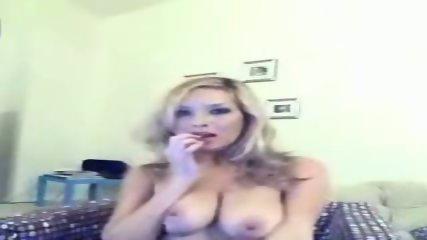 Sexy webcam blonde - scene 6