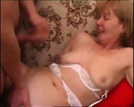 blonde mom get her arse reamed hard - scene 12