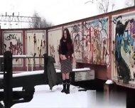 Write Me At Cas-affair - Snow Cold Flashing Amateu