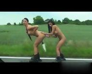 Kinky Public Nude Rollers - My Affair On Cheat-meet - scene 6