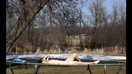 Trampoline Fuck Sex in Mid Air CRAZY - scene 3