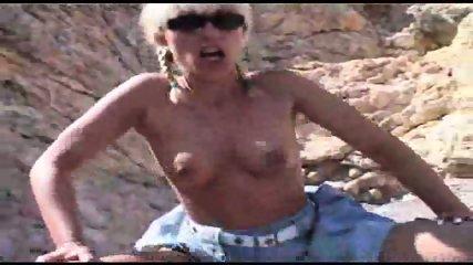 bangin' a blonde on the beach - scene 5